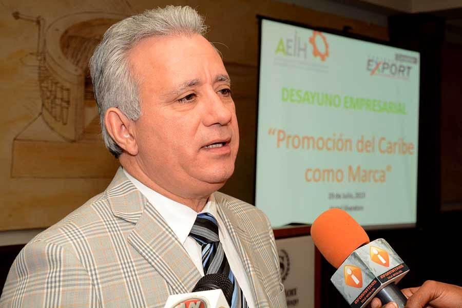 Antonio Taveras Guzmán, presidente de la Asociación de Industriales de Herrera.