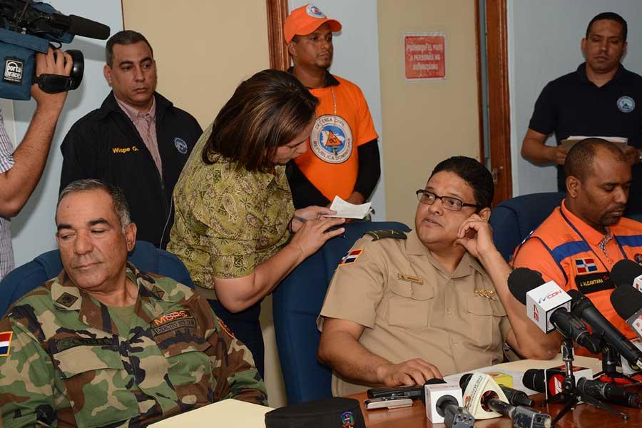 El director del COE, general Juan Manuel Méndez, ofreció un informe sobre el resultado del operativo de prevención en Navidad. / LÉSTHER ÁLVAREZ.