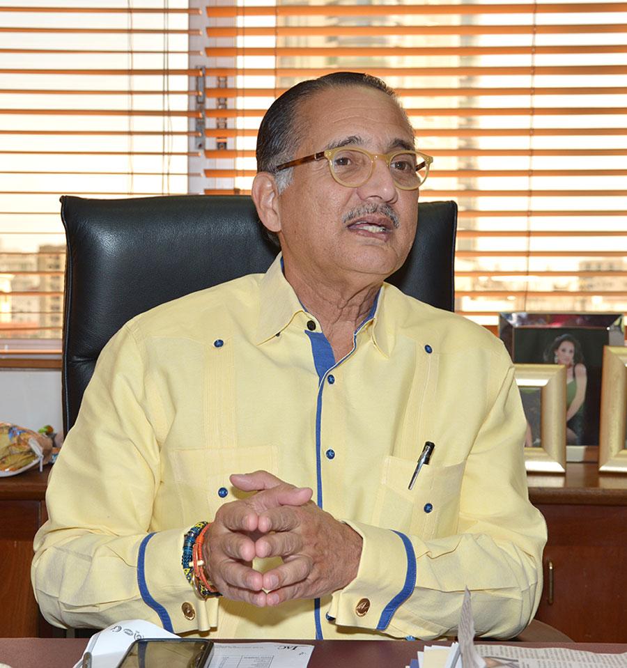 En entrevista para elDinero, Arturo Villanueva, consideró necesario que el país siga fortaleciendo su imagen internacional./GABRIEL ALCÁNTARA