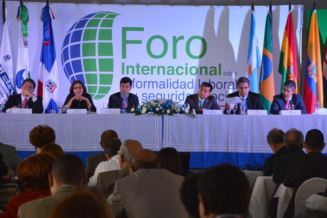 Foro Internacional de Empleo Informal y Seguridad Social./Lésther Alvarez