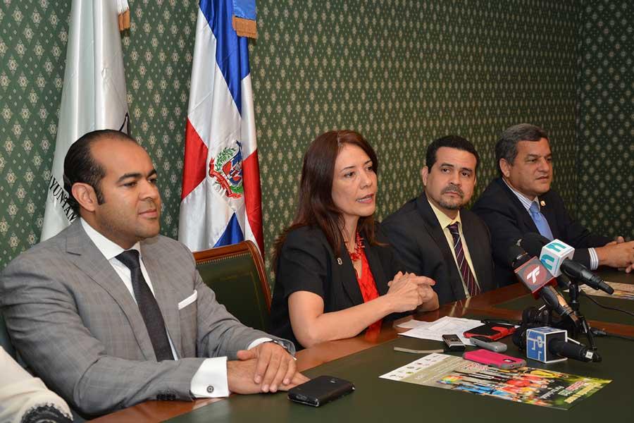Kali Michel; Sina des Rosario, Juan Miguel Guzmán y José Miguel Martínez/ LÉSTHER ÁLVAREZ