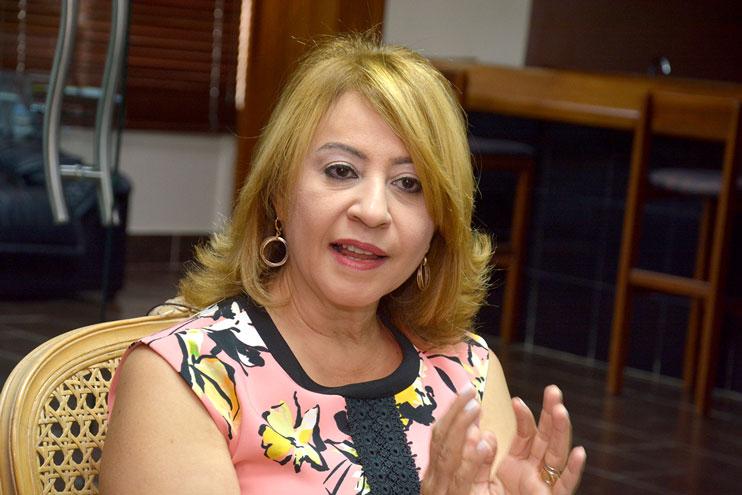 Rosanna Ruiz, presidenta ejecutiva de la ABA. | Lésther Álvarez