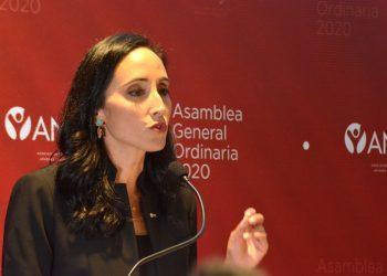 La presidenta de Asociación de Jóvenes Empresarios (ANJE), Susana Martínez. | Lésther Alvarez