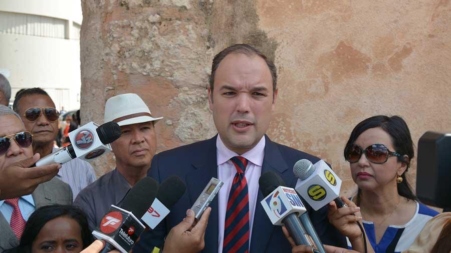 El ministro de Industria y Comercio, José del Castillo Saviñón.LÉSTHER ÁLVAREZ