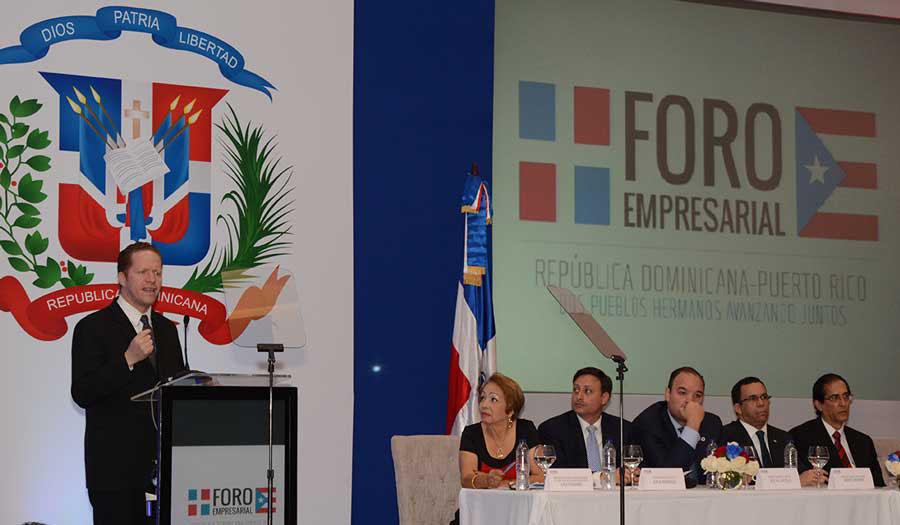 El foro empresarial entre República Dominicana y Puerto Rico fue coordinado por el CEI-RD / Lésther  Alvarez