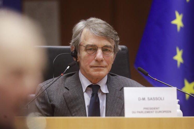 David Sassoli, Eurocámara