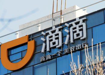 FILE PHOTO: Didi headquarters in Beijing