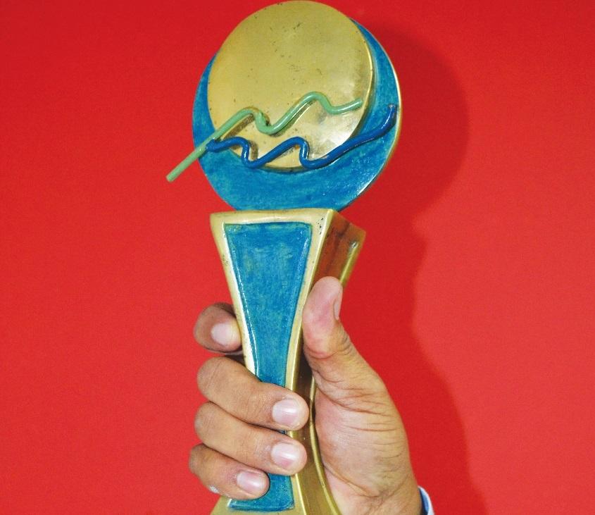Estatuilla que se entrega a los ganadores del Premio Epifanio Lantigua.