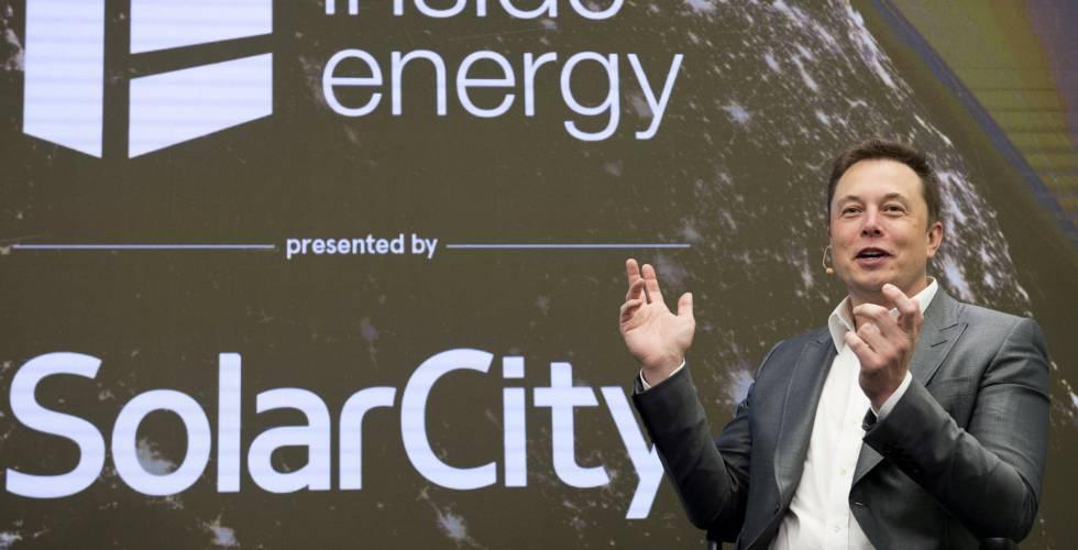 elon musk, fundador de tesla y solarcity
