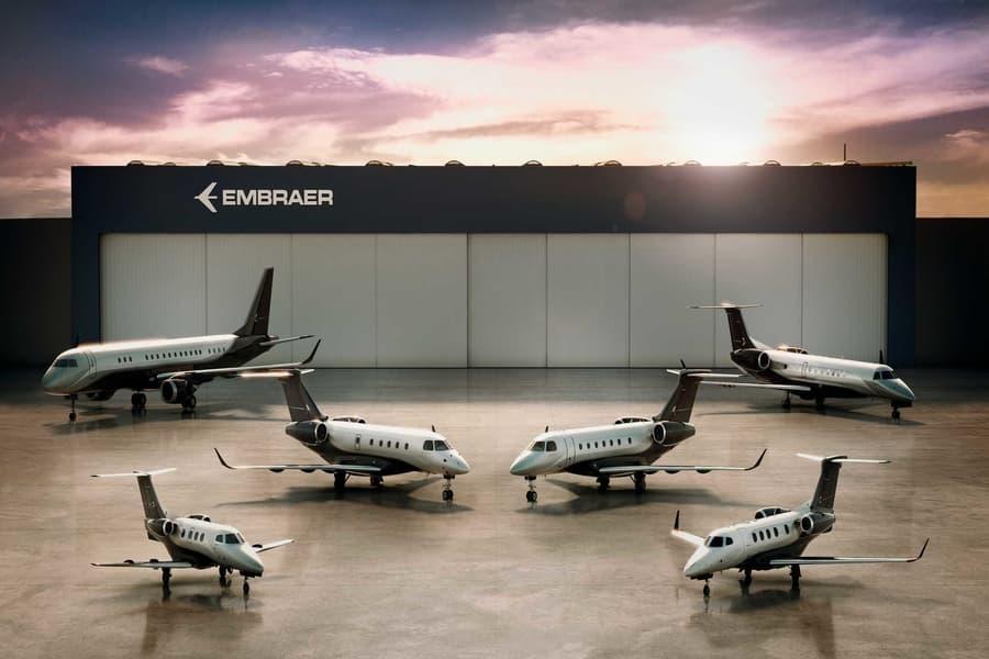 embraer commercial aviation