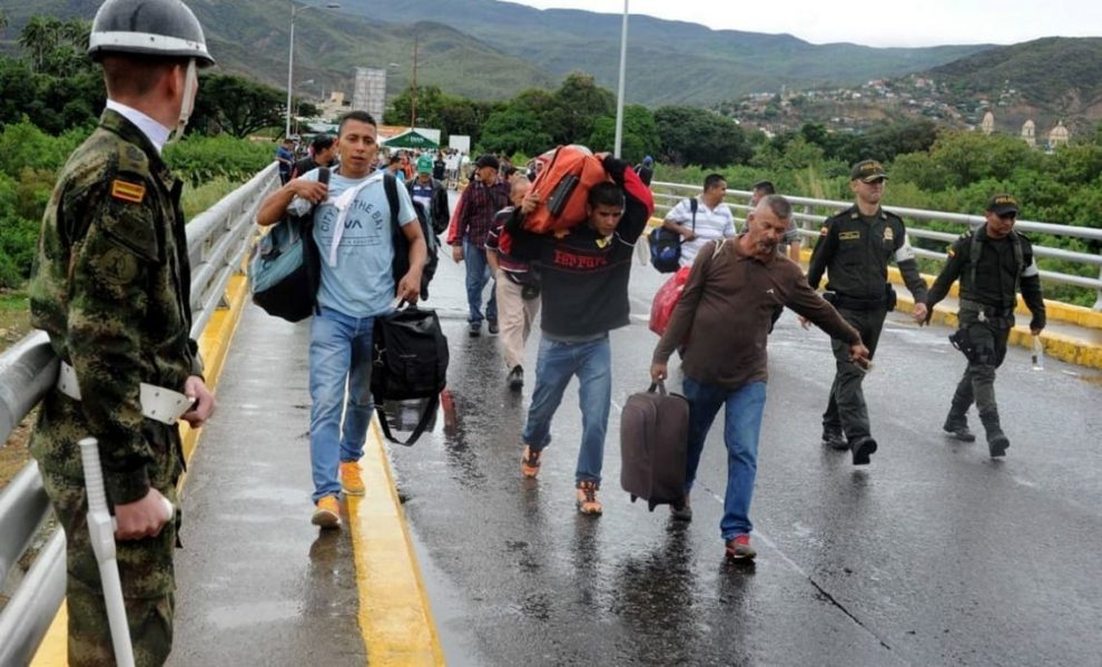 emigrantes venezuela