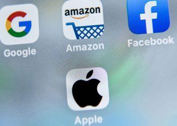 Empresas tecnológicas BigTech Google, Amazon, Facebook, Apple