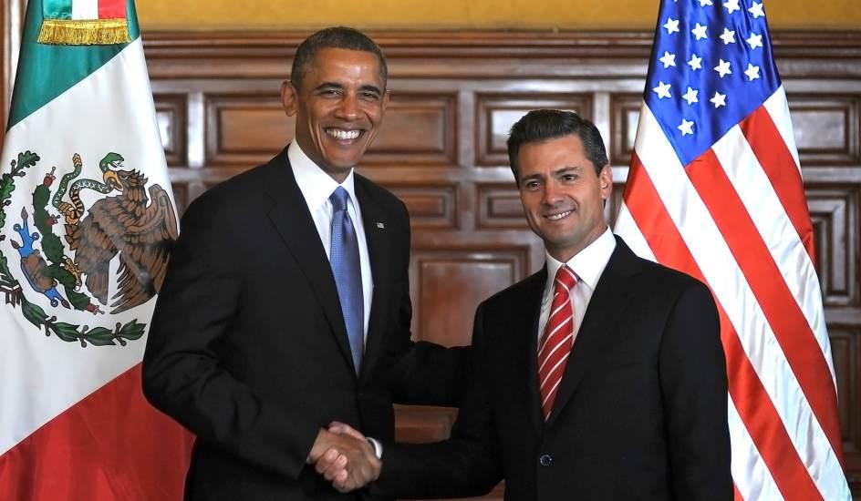El presidente Obama y su homólogo mexicano Enrique Peña Nieto en enero de 2015 en la Casa Blanca.