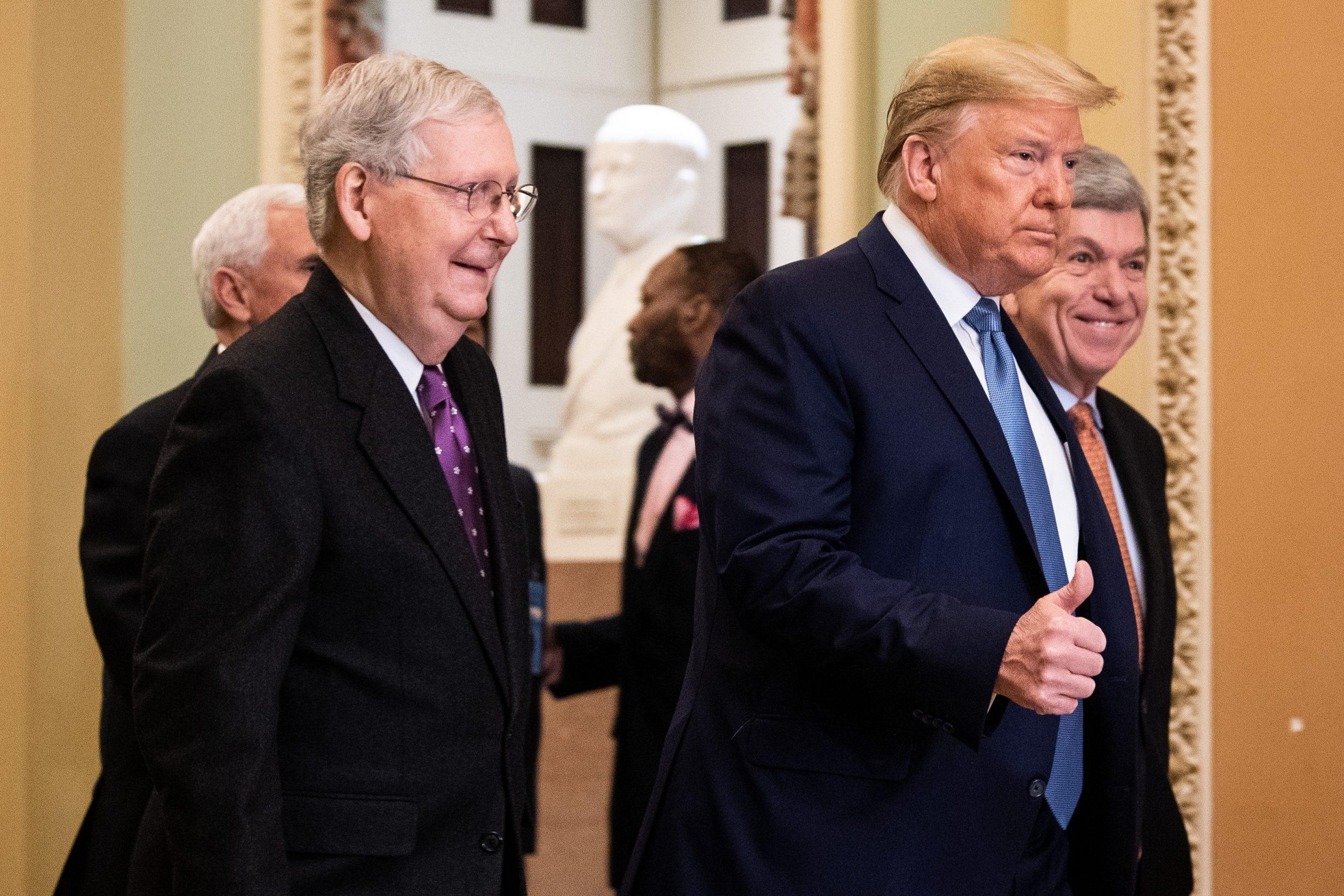 trump discusses covid 19 impact on economy