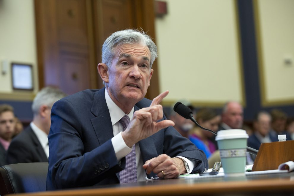 federal reserve chair jerome powell testifies before congress