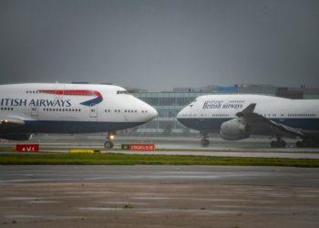 Los dos últimos 747 de British Airways. | Europa Press.