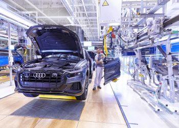 Fábrica de vehículos de Audi. | Europa Press.