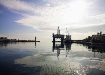 Plataforma petrolífera para desguace APA. | Europa Press.