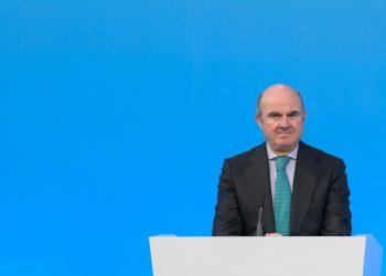El vicepresidente del BCE, Luis de Guindos. | EFE.