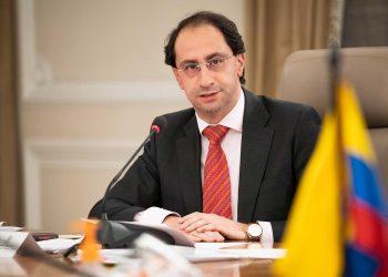El ministro de Hacienda y Crédito Público de Colombia, José Manuel Restrepo. | Europa Press.