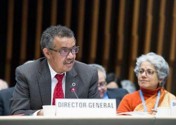 El director general de la Organización Mundial de la Salud, Tedros Adhanom Ghebreyesus. | Europa Press.