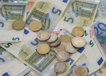 Euros, euro, dinero, monedas