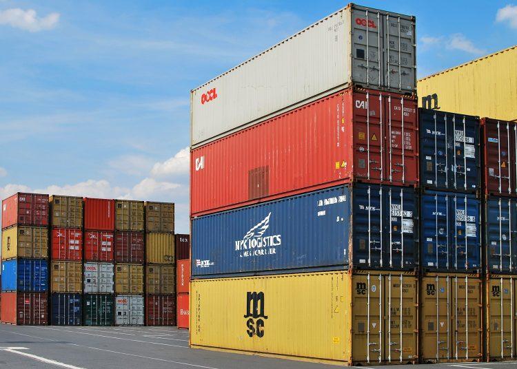 Exportaciones, comercio, contenedores