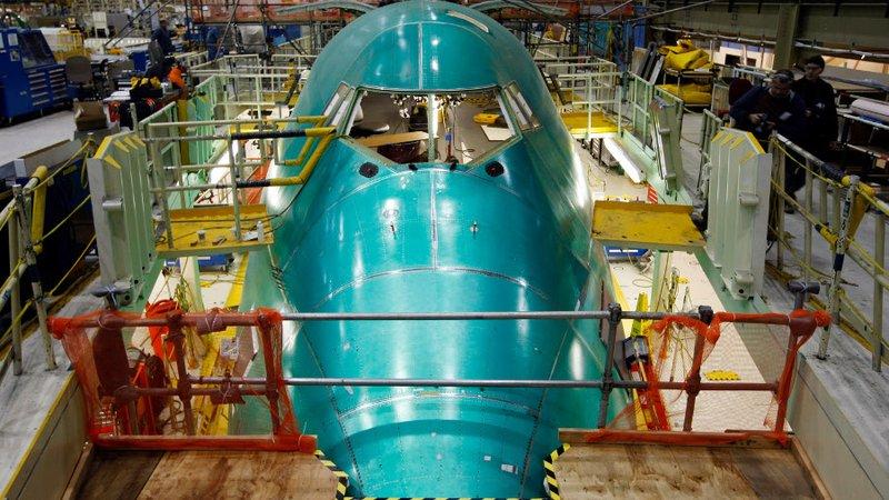 fabrica de componentes b777x