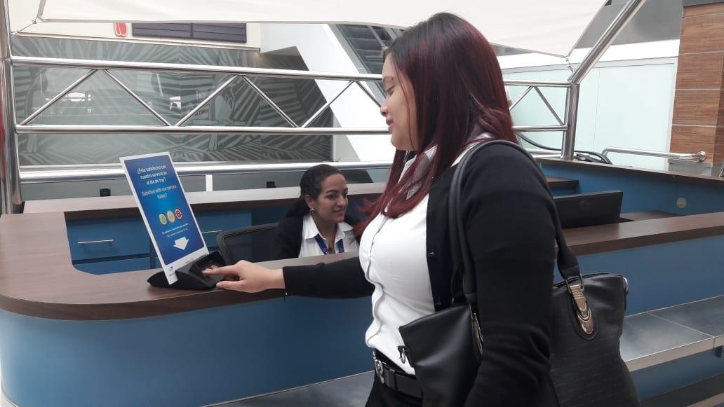 feedback now counter servicio al cliente terminal las americas