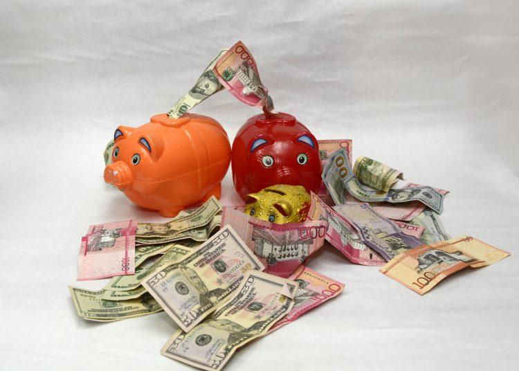 Foto temática de Ahorro  en pesos y en dolares,