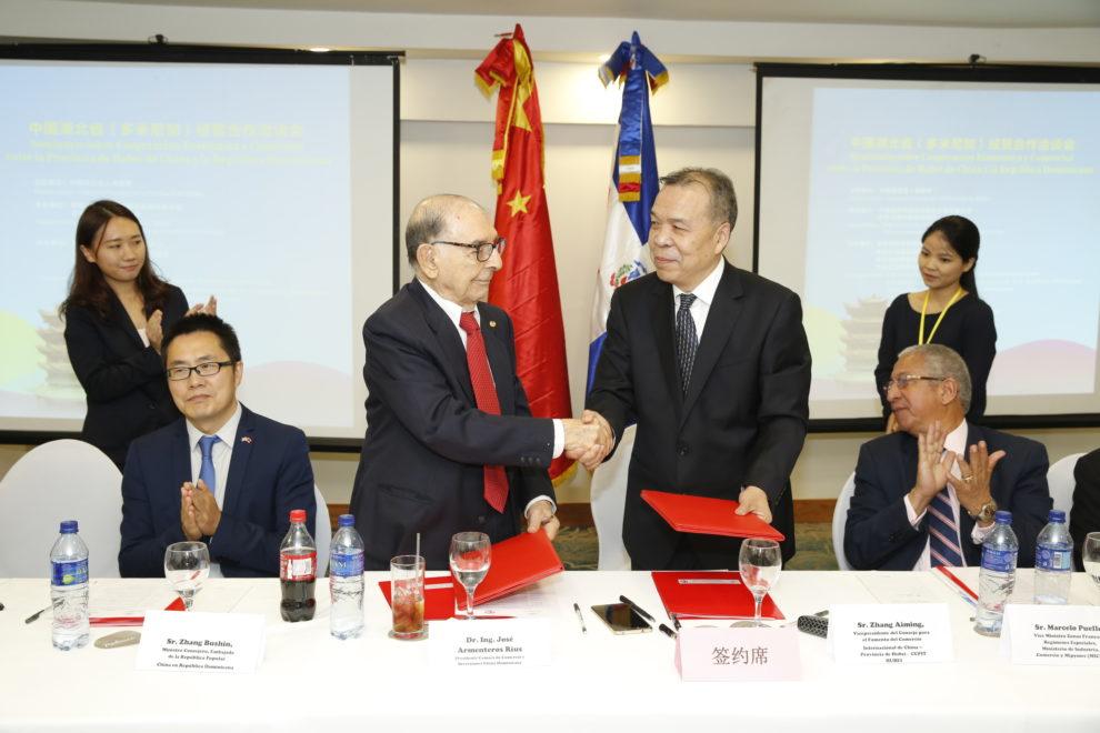 firma de acuerdo rd china