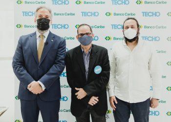Dennis Simó, Miguel Cunillera y John Barush Soto.