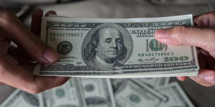 Give a money United States dollar (USD)