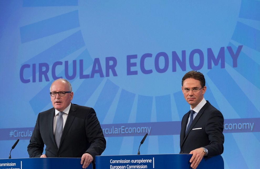 press conference by frans timmermans & jyrki katainen on circular economy package