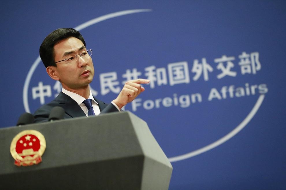 geng shuang, portavoz del ministerio de asuntos exteriores de china