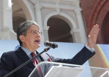 El presidente de Ecuador, Guillermo Lasso. | Fuente externa.