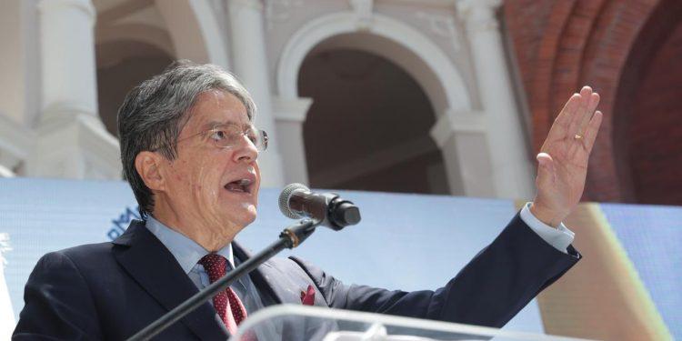 El presidente de Ecuador, Guillermo Lasso.   Fuente externa.