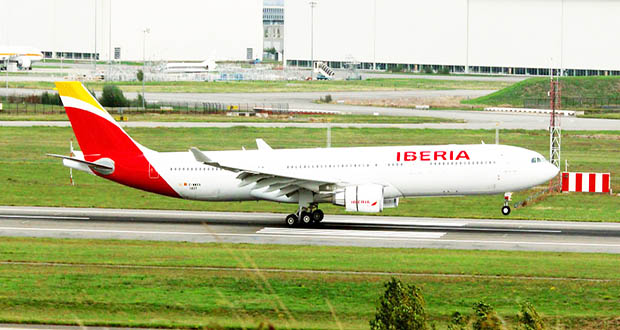 Iberia también se había retirado del mercado dominicano, pero regresó el año pasado.Fuente: Prensa Latina