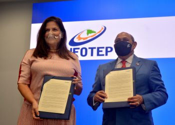 Infotep y Cenapec firma acuerdo interinstitucional | Lésther Álvarez