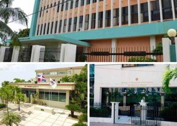 El Consejo Estatal Del Azúcar (CEA), Comedores Económicos del Estado Dominicano y la Oficina Supervisora de Obras del Estado.  / Fuente externa