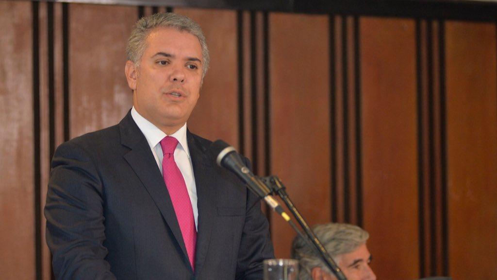iván duque, presidente colombia