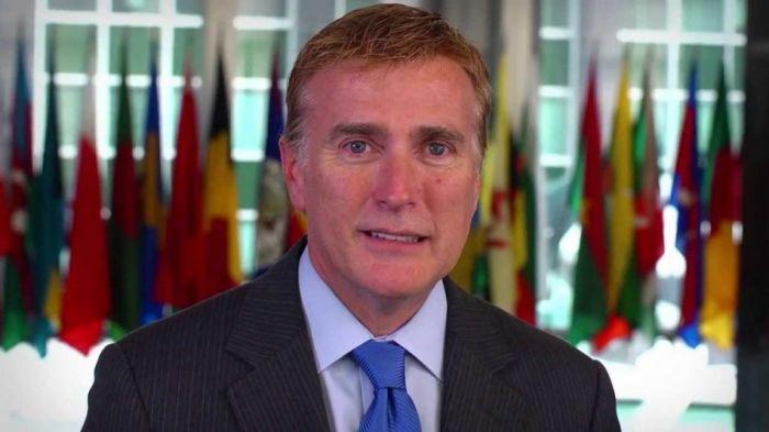 James Brewster, embajador de los Estados Unidos en República Dominicana./elDinero