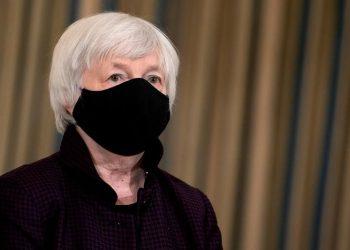 La secretaria del Tesoro de EEUU, Janet Yellen. | Stefani Reynolds, EFE.