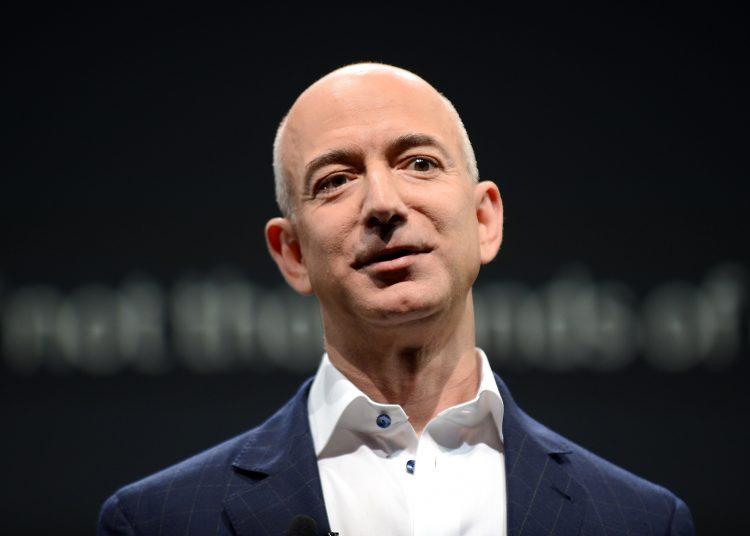 Jeff Bezos, CEO of Amazon