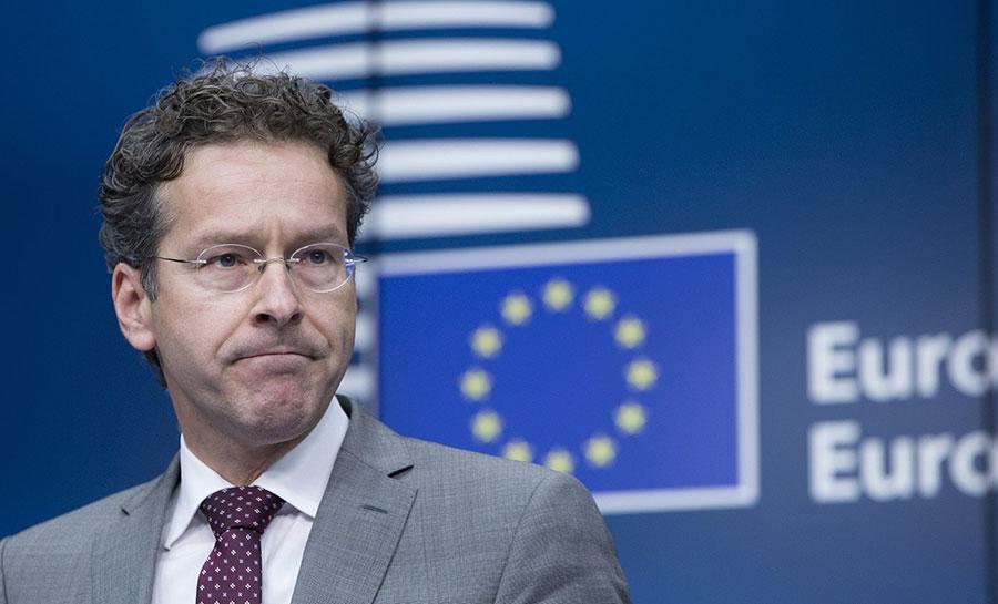 Jeroen Dijsselbloem, presidente del Eurogrupo.