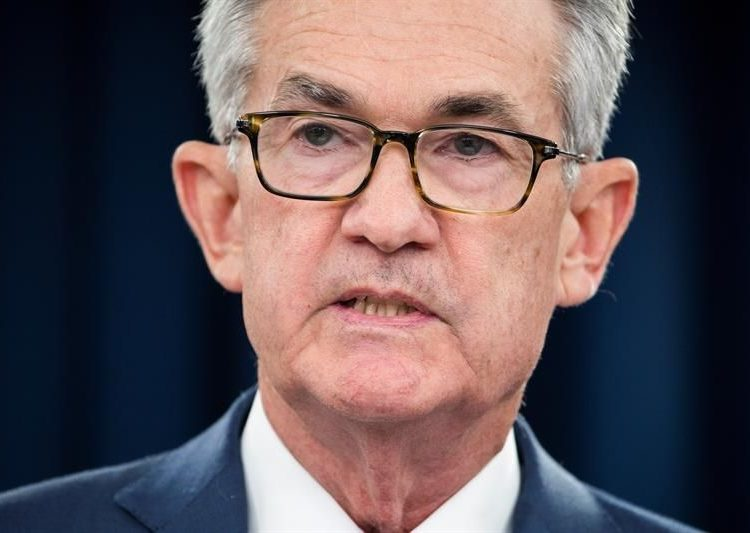 Jerome Powell, presidente de la Reserva Federal de EEUU. | Jim Lo Scalzo, EFE.