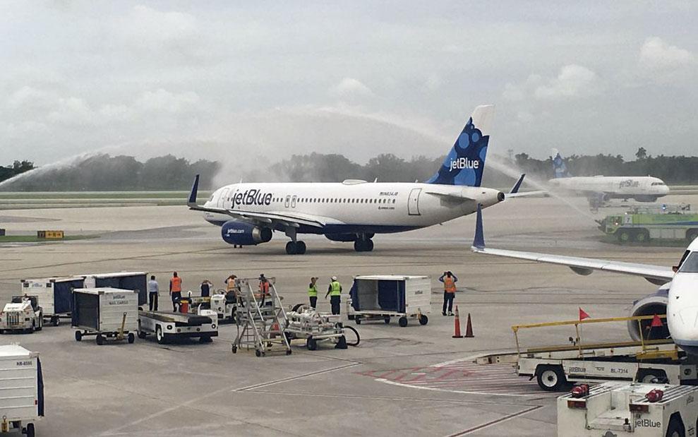 jetblue cuba primer vuelo regular