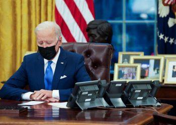 El presidente de los Estados Unidos, Joe Biden. |  Doug Mills, EFE.