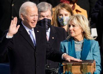 Juramentación de Joe Biden como presidente no. 46 de Estados Unidos. | Fuente externa.