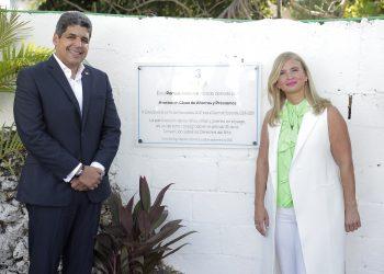 José Luis Ventura y Mónika Despradel.